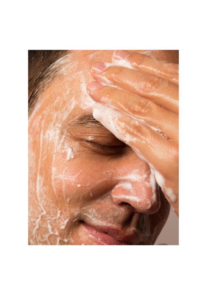 Vitruvian Man Cleanser with Toner