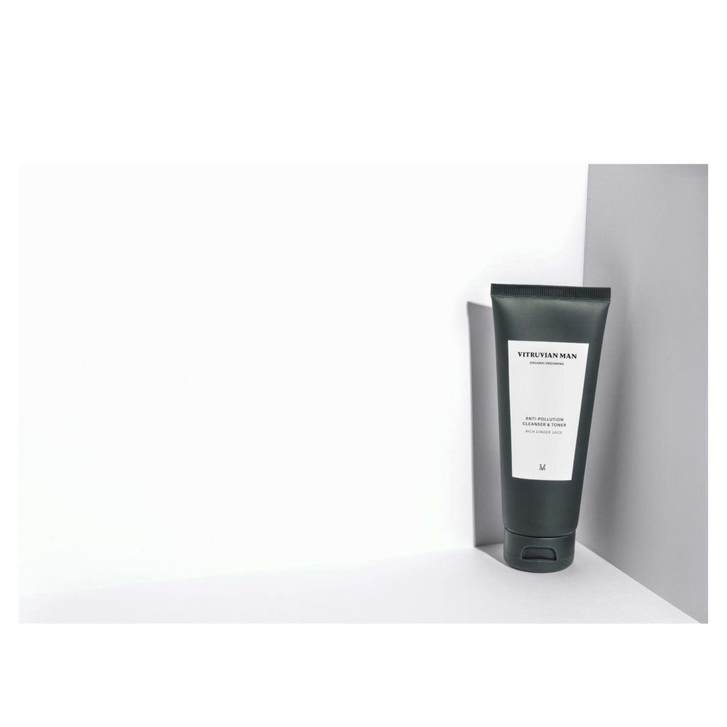 Vitruvian Man Facial Cleanser with Toner