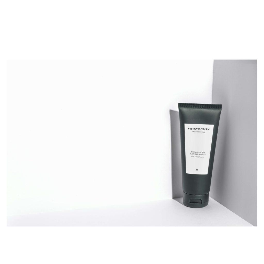 Vitruvian Man Facial Cleanser with Toner