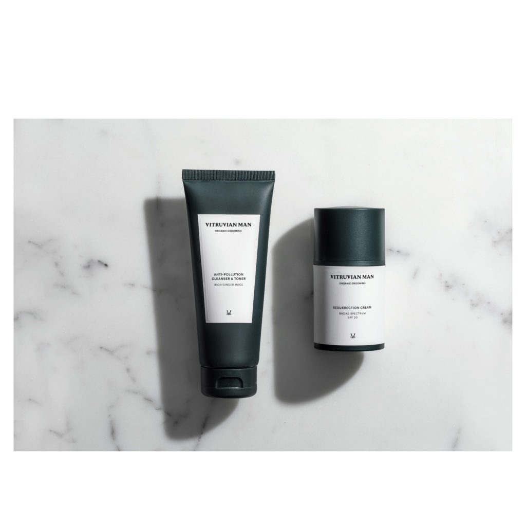 Facial Cleanser and Face Cream Set