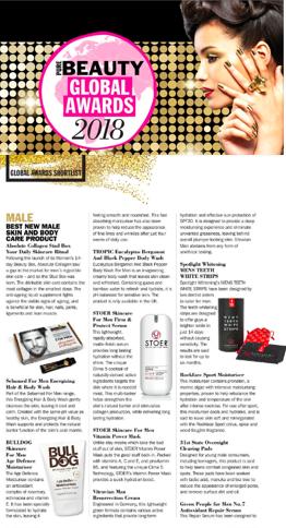Pure Beauty Award Shortlist