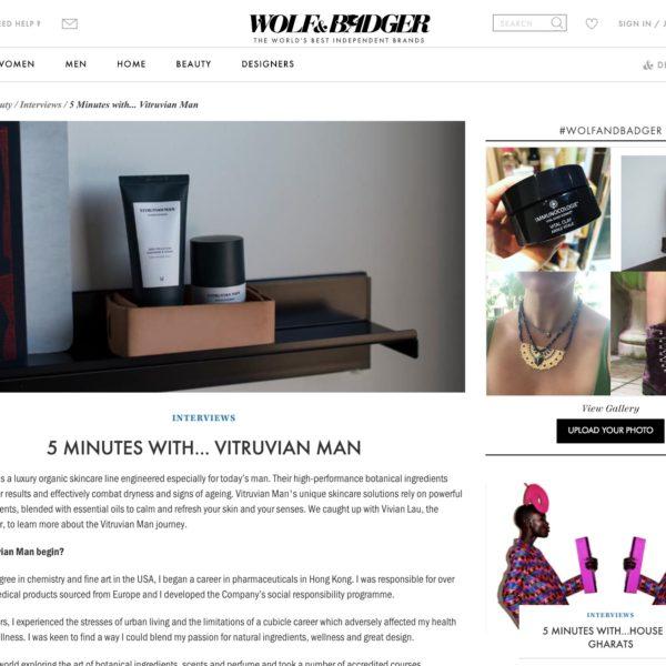 Vitruvian man best skincare for men with dry skin