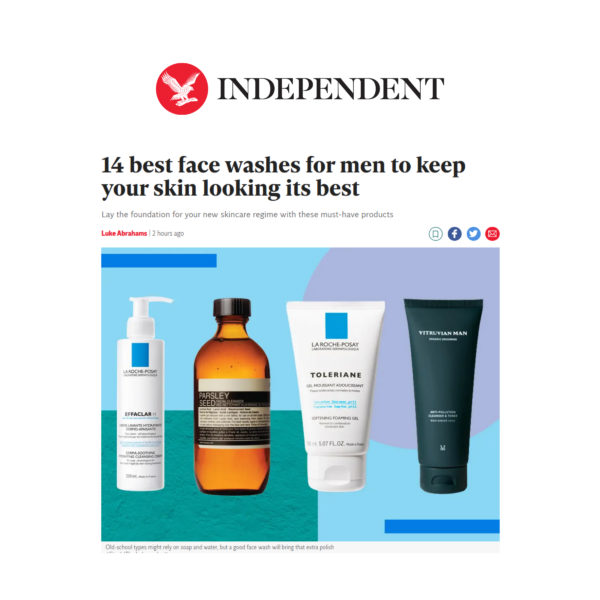 Independent's Best Face Washes for Men