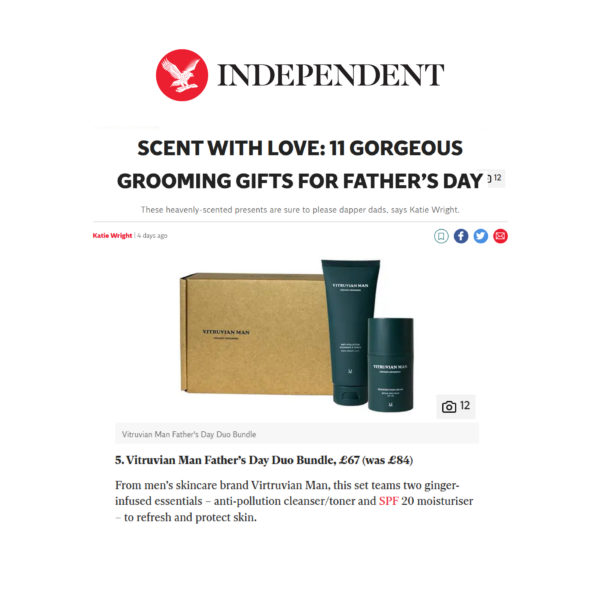 Independent's Grooming Gifts for Father's Day
