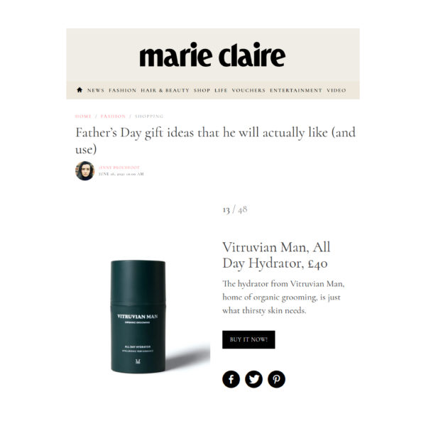 Marie Claire's Father's Day Gift Guide