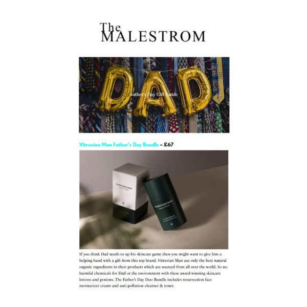 The Malestrom's Father's Day Gift Guide